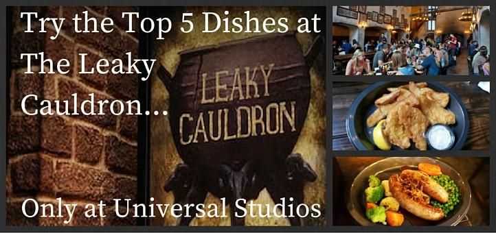 A Home From Home: Top 5 Dishes at the Leaky Cauldron at Universal Studios | Orlando Ticket Deals
