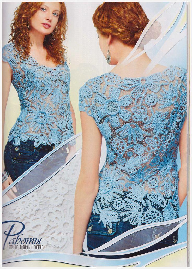 Free+Russian+Crochet+Patterns | Duplet 146 Russian crochet patterns magazine