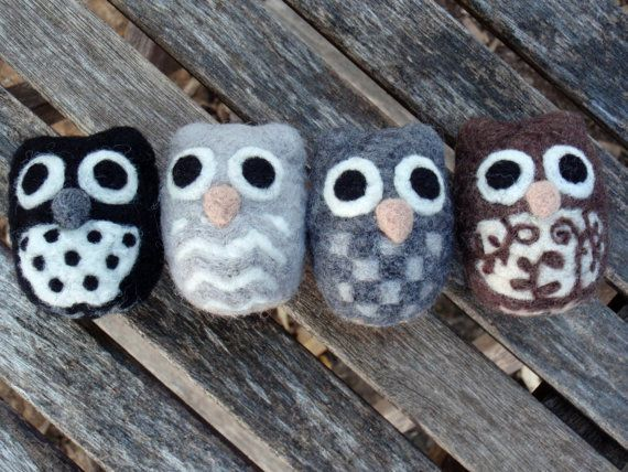 Stuffed owl cuties From GoodNatured by Dani Etsy $16