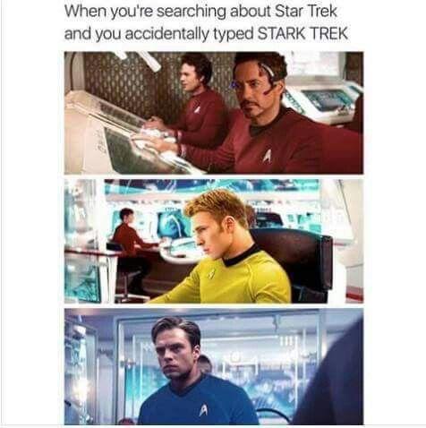 This is really hilarious !! Capt.Steve T.Kirk & Dr.Bucky McCoy !! Brilliant !! XDD