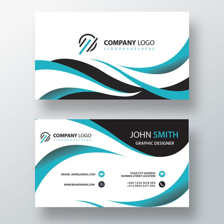 The surprising 2 Sided Business Cards | Free Download ...