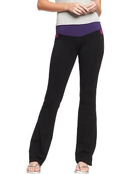 Women's Slim Boot-Cut Yoga Pants | Old Navy