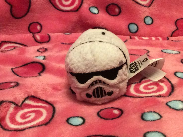 It's a Storm-Trooper from Star Wars!