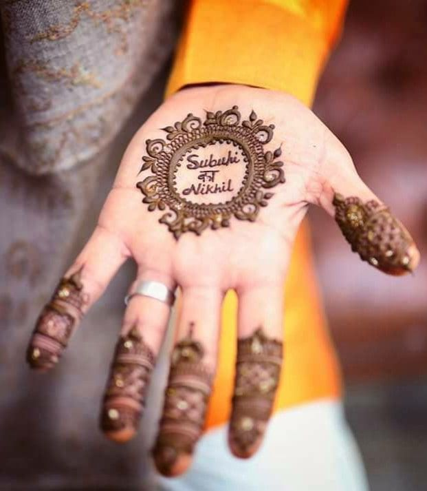mehandi design for groom