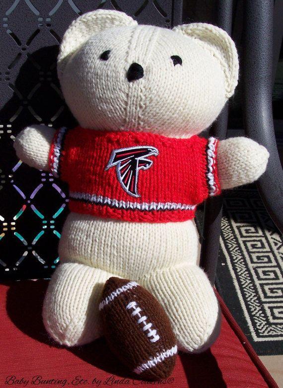 Bear Baby Bobbi Team Bear Atlanta Falcons by babybuntingetc
