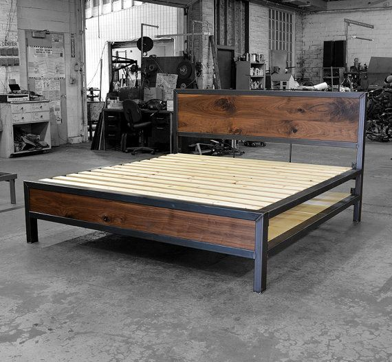 Early Century Bed with Storage by deliafurniture on Etsy
