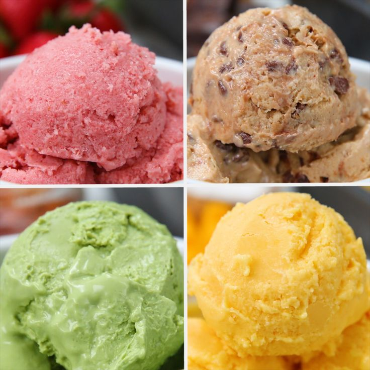 Frozen Yogurt 4 Ways