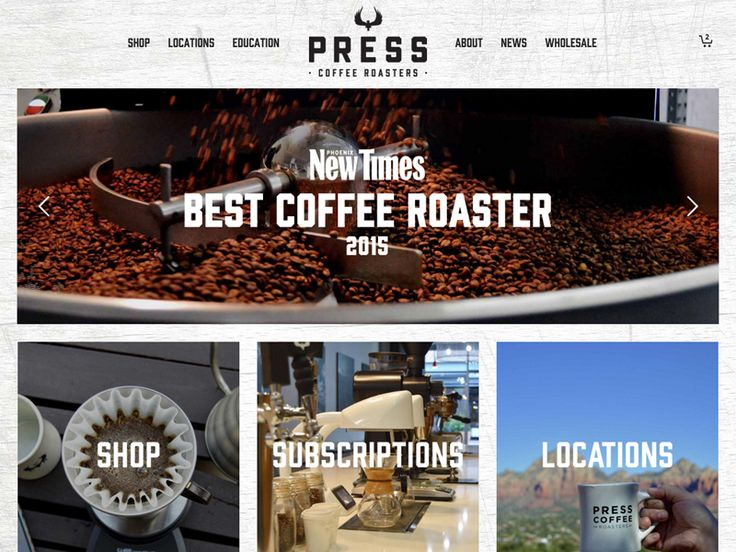 A beautiful coffee subscriptions site, built with WooCommerce.