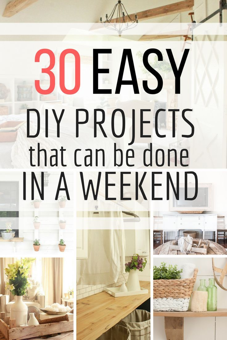 Looking For Something To Do This Weekend Check Out Collection Of Simple Diy Wood Projects That Can Be Done In No Time Twelveonmain Diyprojects