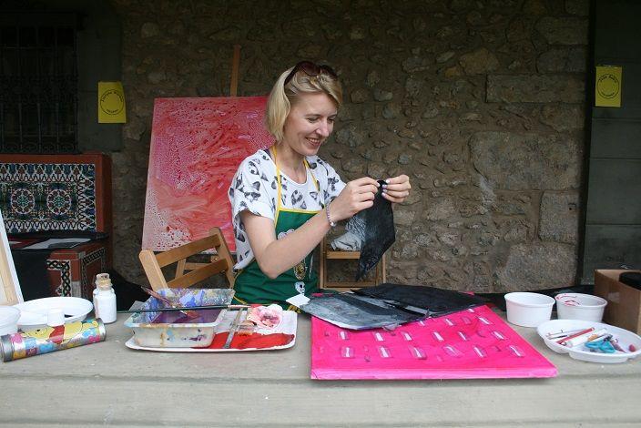 simposio internacional de artistas. Sianoja 2017. Manolo Saenz Messia Justina Warwas Pintura  #artist   #art #paint #painting #color #colour  #arte #artistas #cantabria #Noja #painting #artist #artista #arte #Palacio Albaicín #Simposio #artistas #Internacional #cuadro #paint