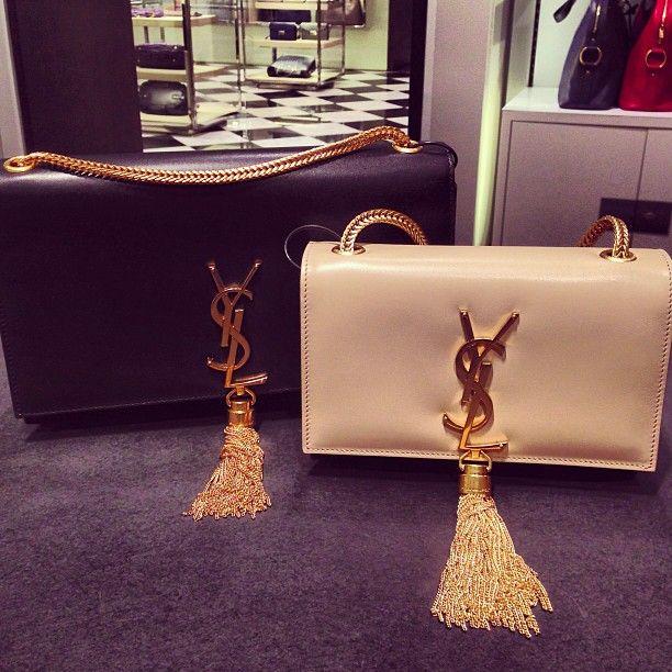 Classic Monogrammed Saint Laurent Cross Body Shoulder Bag with ...