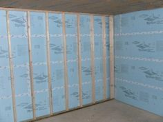 "Basement Vapor Barrier - Basement Insulation Issues - looking for ways to frame over styrofoam insulation. Have 1 3/4"" between styrofoam and back of electrical outlets."