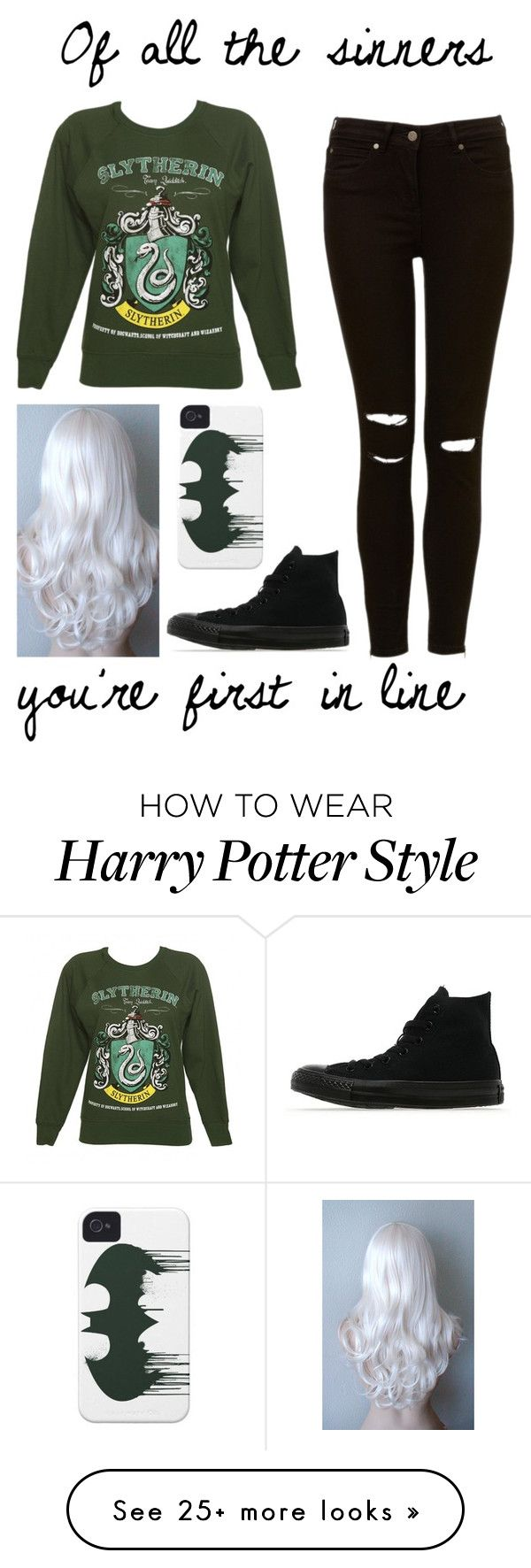 """Kick Me // Sleeping With Sirens"" by im-punk-not-dead on Polyvore featuring Converse"