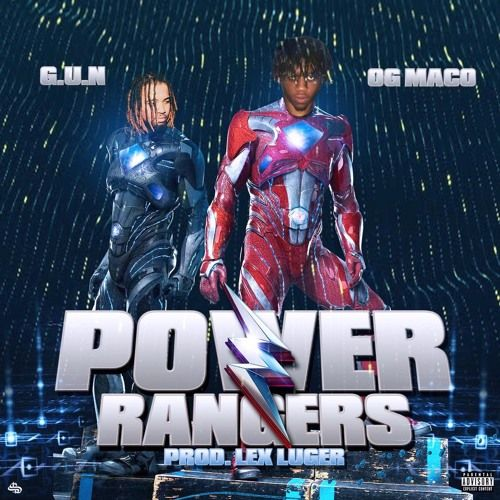 """OG Maco and G.U.N. are """"Power Rangers"""" over a thumper by Lex Luger on this new cut. Click to listen...