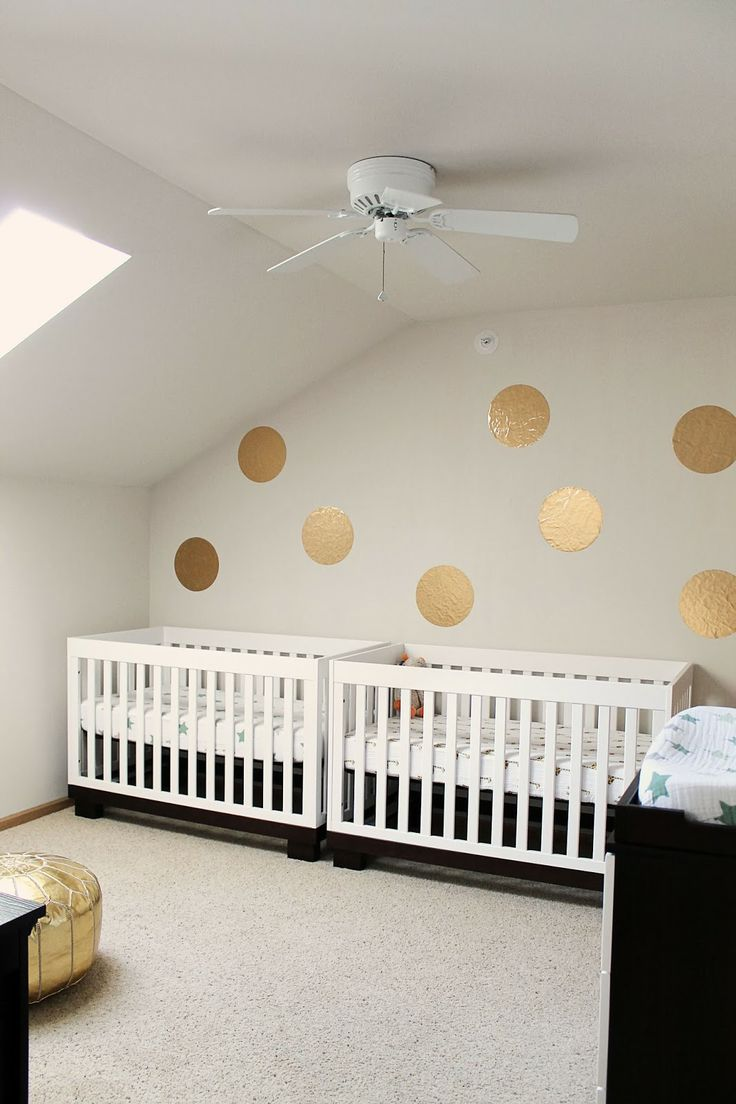 best babyletto modo crib images on pinterest  cribs  - a modern twin nursery seen on shannonigans featuring two babyletto modoconvertible cribs love