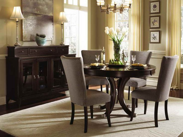 25 best ideas about Round dining room sets on Pinterest