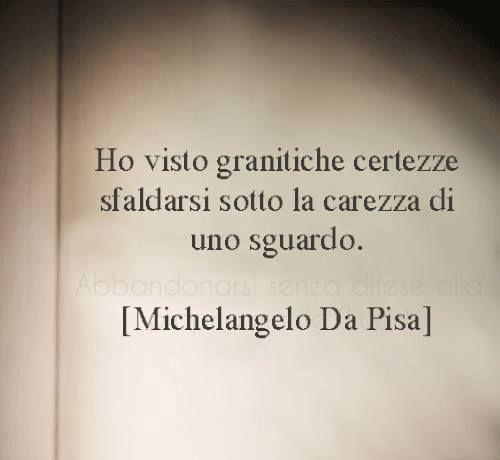 Michelangelo da Pisa Granitiche certezze