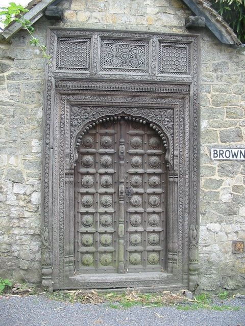Storrington - Door in Browns Lane