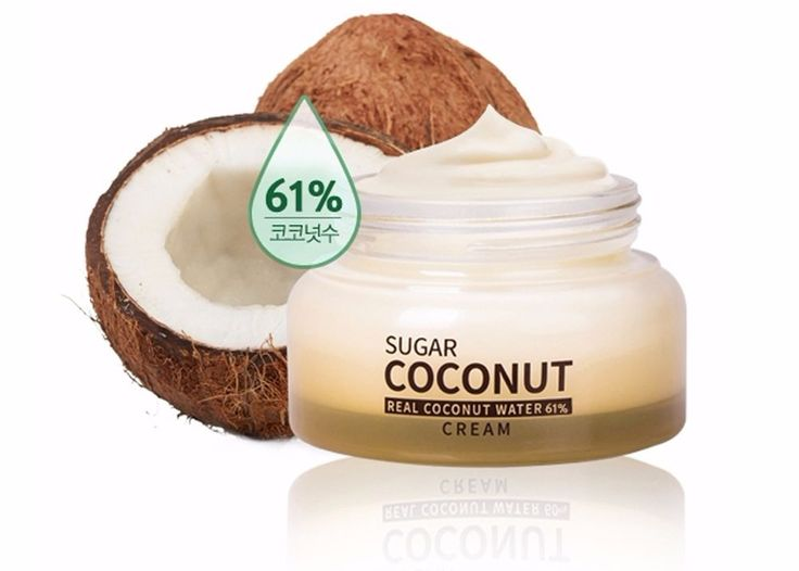 Aprilskin Super Moisturizing Sugar Coconut Cream 1.69 oz Korean Cosmetics #Aprilskin
