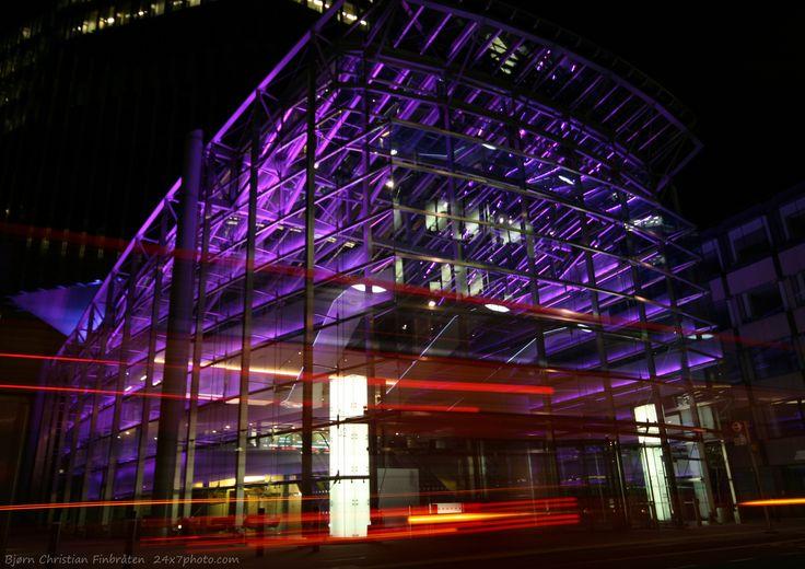 One second of travel by Bjorn Christian Finbraten on 500px 24x7photo.com, windows, England, London, London bus, Tower42, United Kingdom, bus, glass, light, light trail, lights, UK, architecture
