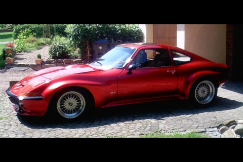 Beautiful Opel GT