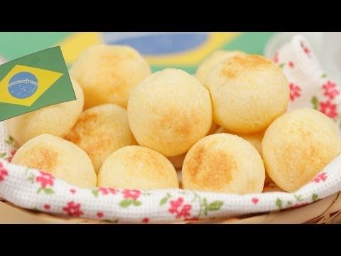 Pão de Queijo (Cheese Buns) Recipe ポンデケージョ 作り方 レシピ Special Guest Rolê Gourmet - YouTube