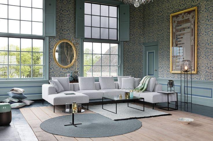 Montèl Sava | Design | Bank | Wooninspiratie | Interieur | Hoekbank | Herenhuis