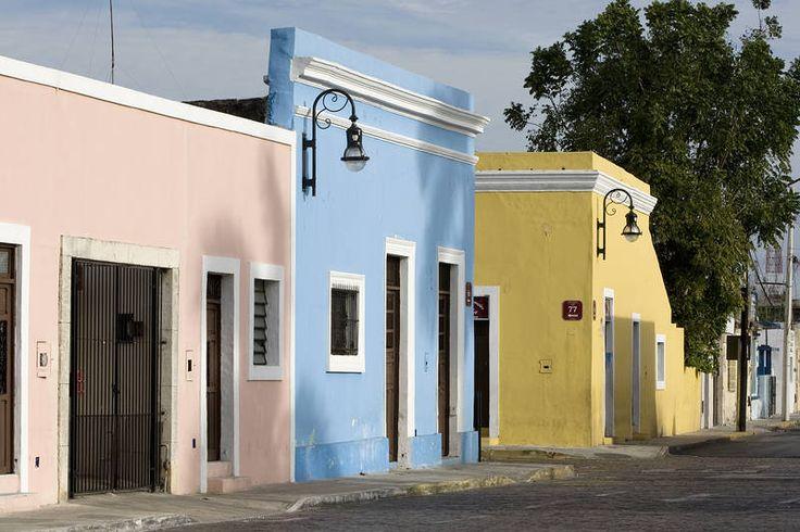 Meridassa kietoutuvat yhteen siirtomaa-aika ja mayojen historia. #Merida #Mexico