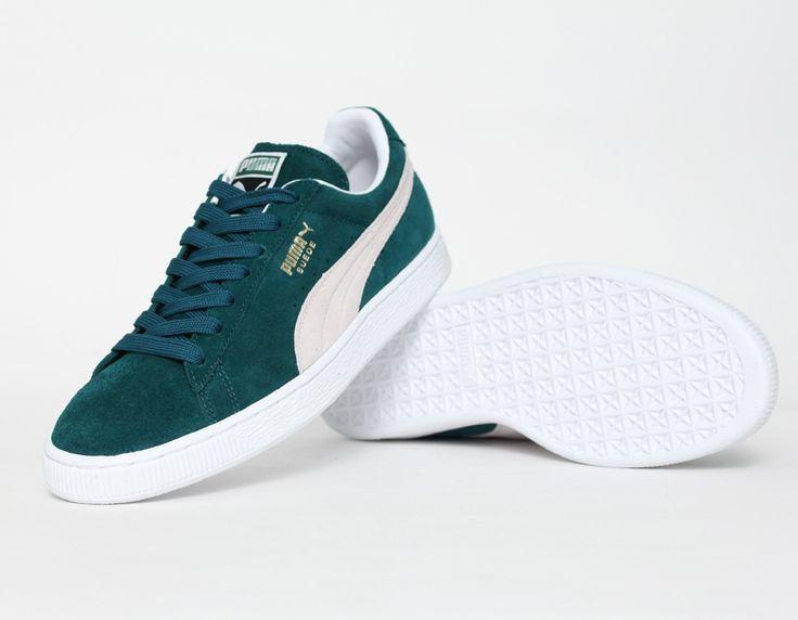 new style 5758d 514bf puma suede dark green