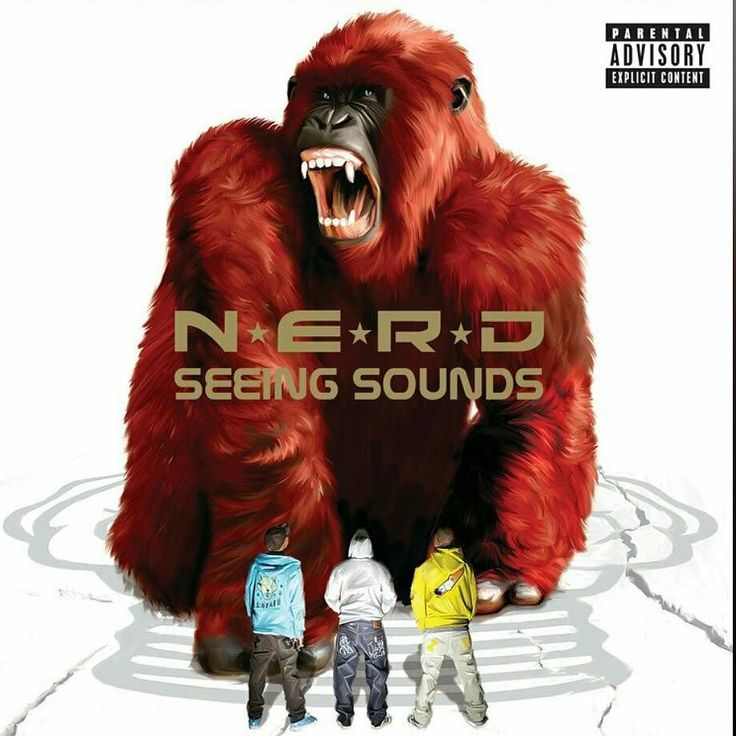 When this came out i just wanted to be a lead singer in a band and rage my heart out. #seeingsounds #nerd #pharrell #apeshallneverkillape