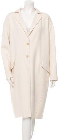 Joseph Wool & Cashmere-Blend Long Coat