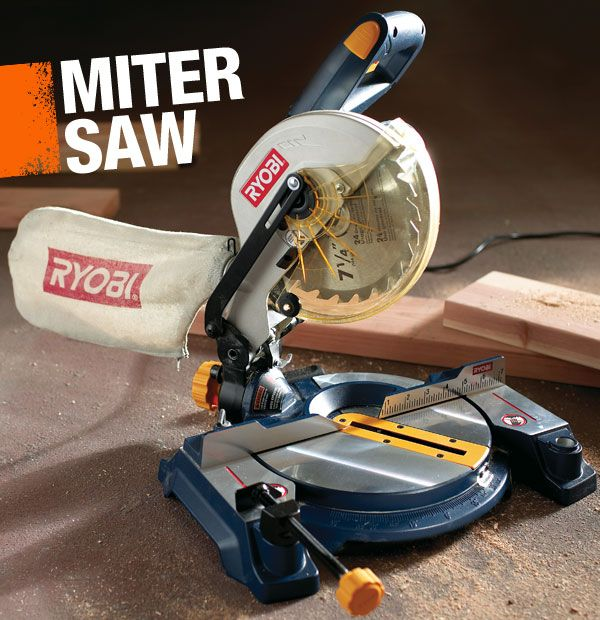 A miter saw is a crosscut saw that is used to make precise angle cuts in wood, especially moulding trim.
