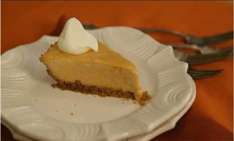 Watch How to Make Pumpkin Pie Healthier in the  Video use the crust with regular cooked filling