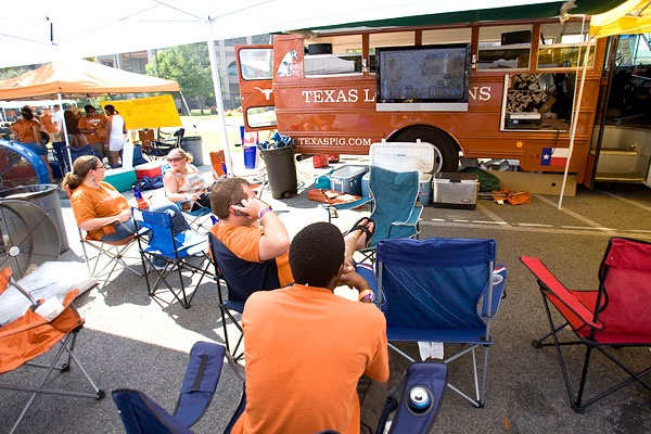 Why yes, we will tailgate multiple UT games.