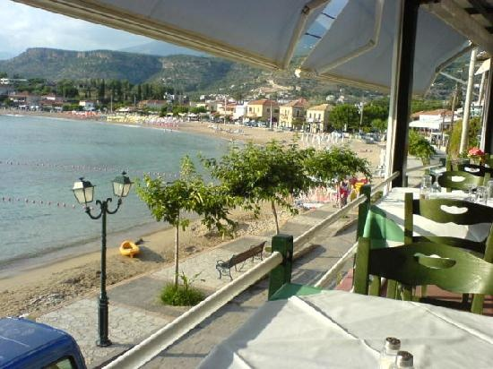 Stoupa, Greece - Quite touristic but not too much. A lovely little village in the Peloponessos in Greece with a atmospheric boulevard full with little bars and restaurants. Beautiful scenery and views.