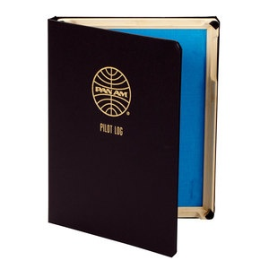 Pan Am Pilot Log iPad 2 Case now featured on Fab.