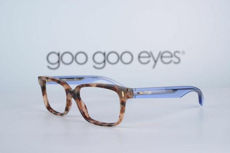 Blue translucent Feni eyewear