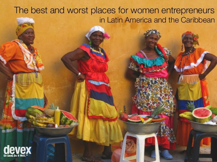 best-and-worst-places-for-women-entrepreneurs in LatAm by Devex via Slideshare