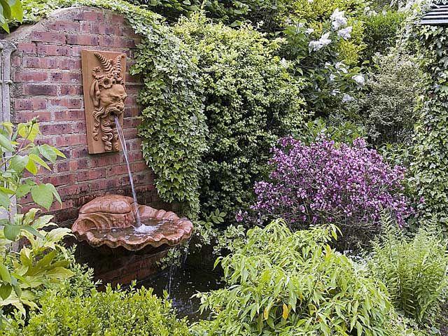 11 best Fontaine de jardin pierre et fonte images on Pinterest