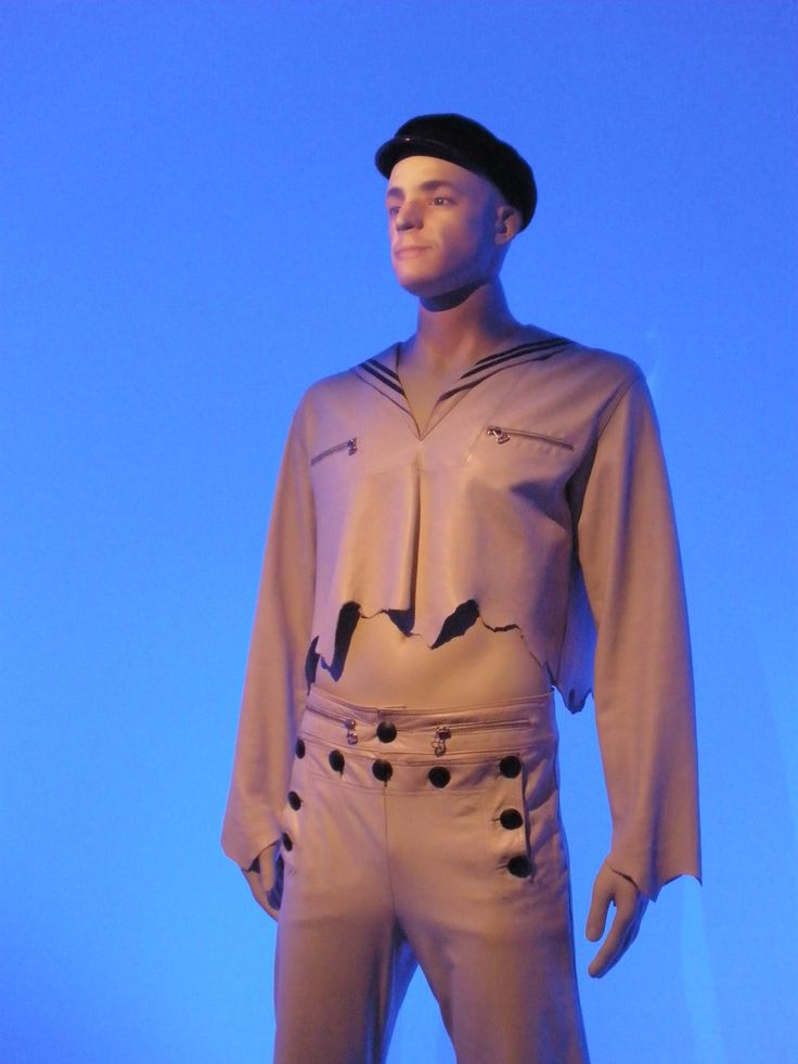 Jean-Paul Gaultier, Barbican, fashion, sailor