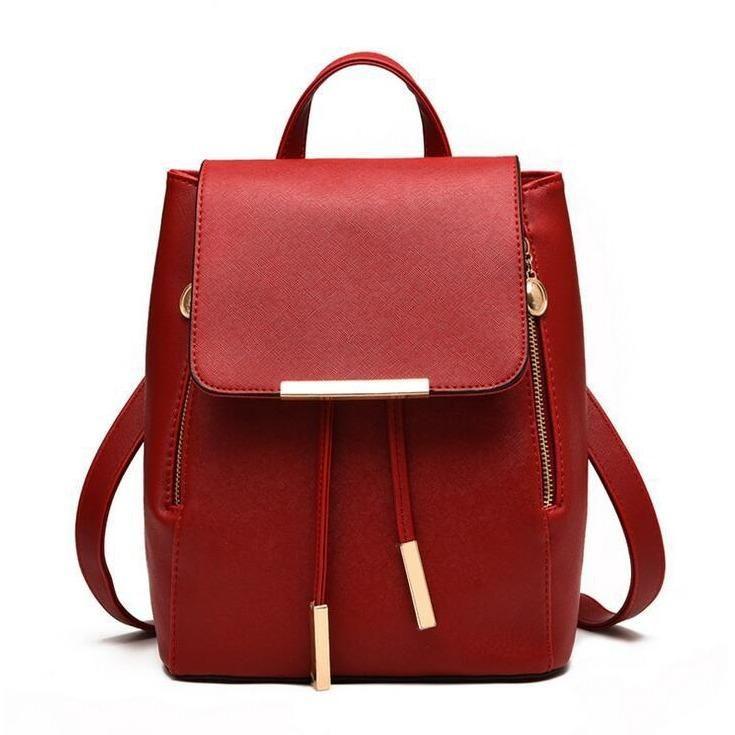 Vegan Leather School Bags For Girls
