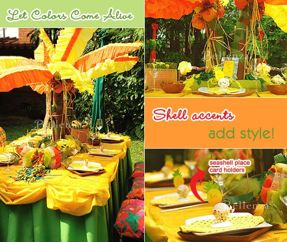 Bring the Caribbean Home for a Jamaican Inspired Engagement Party