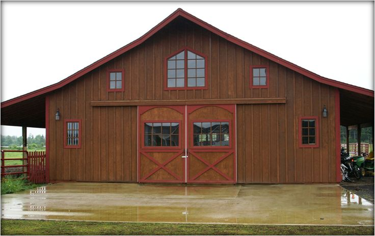 19 best house barn combo images on pinterest pole barn for House and barn combination plans
