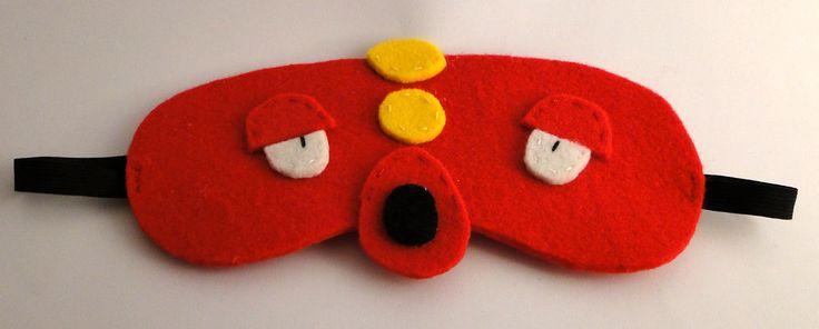 Octillery pokemon blindfold mask by TosTosia