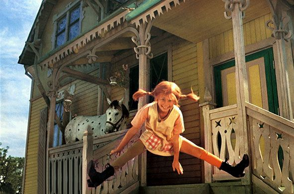 Credit: Allstar/Cinetext/BETA FILM/guardian.co.uk <strong>Pippi Longstocking </strong><br></br> <em>The Adventures of Pippi Longstocking by Astrid Lindgren</em><br></br> Also known as Pippilotta Delicatessa Windowshade Mackrelmint Ephraim's Daughter Longstocking, this nine-year-old Swede is a rebel and an eccentric who strides about town in a pair of man's shoes and is possessed of a strength so formidable that she can lift her horse. She lives free of adults and their rules in a house ...