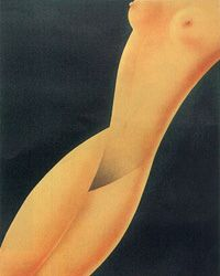 Vintage Nude Poster - Paolo Garretto