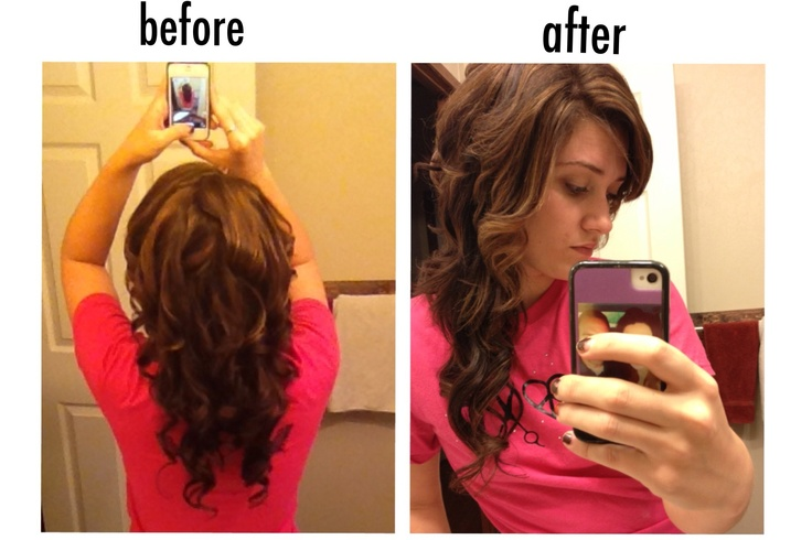 how to get loose waves with a small curling iron