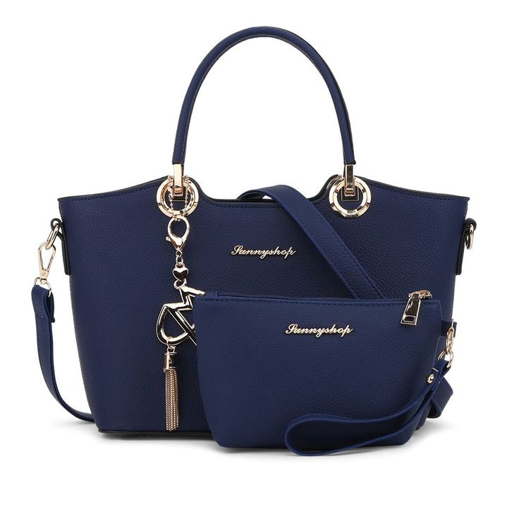 2 Bags/set 2017 Fashion Women Leather Handbag Women Messenger Bags