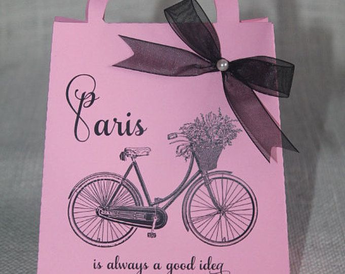 Bolsa de dulces 16 París favor, favor de tema partido Paris, Set 12, ducha de bebé Paris, despedida de soltera de Paris, Paris compromiso, tema de cumpleaños de Paris