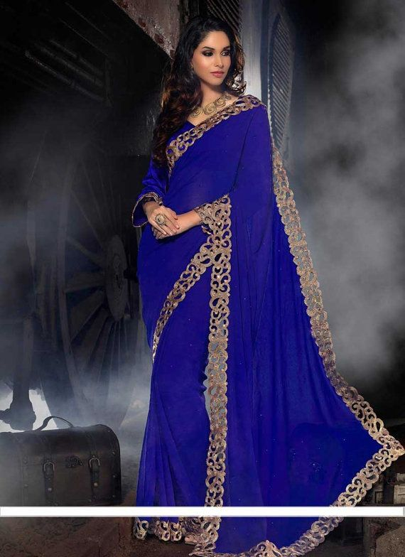 Indian dress Bollywood saree Designer saree by myglitteringworld, $149.99
